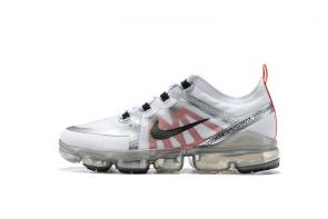 nike air vapormax run utility 2019 white red black